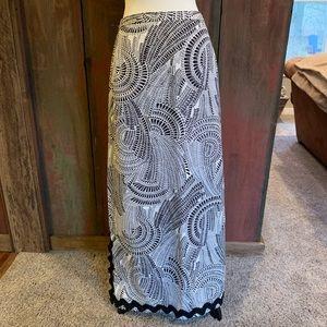 Vintage handmade long skirt